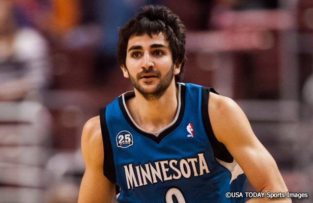 Timberwolves Gm Optimistic About Extending Rubio Basketball