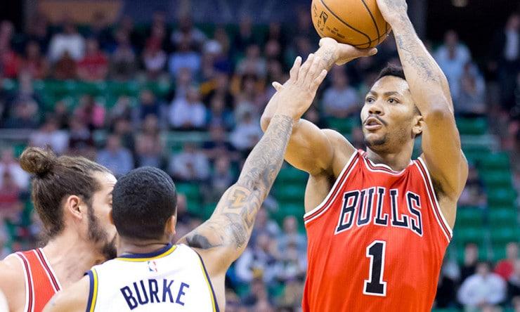 6f43f6e0e1e NBA Saturday  Derrick Rose Rounding Into Form