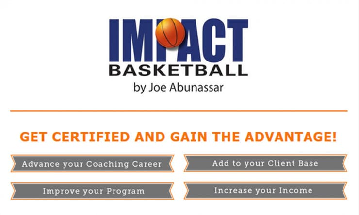Impact Basketball Offering Certification for Coaches, Trainers ...