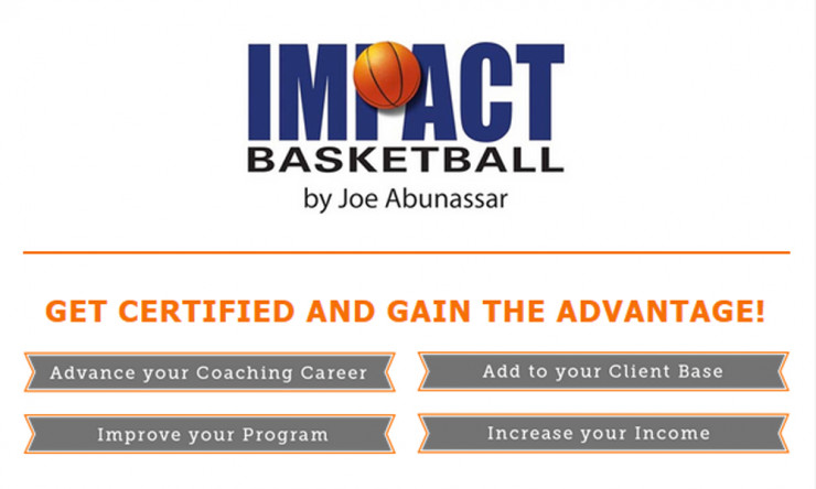 Impact Basketball Offering Certification For Coaches Trainers
