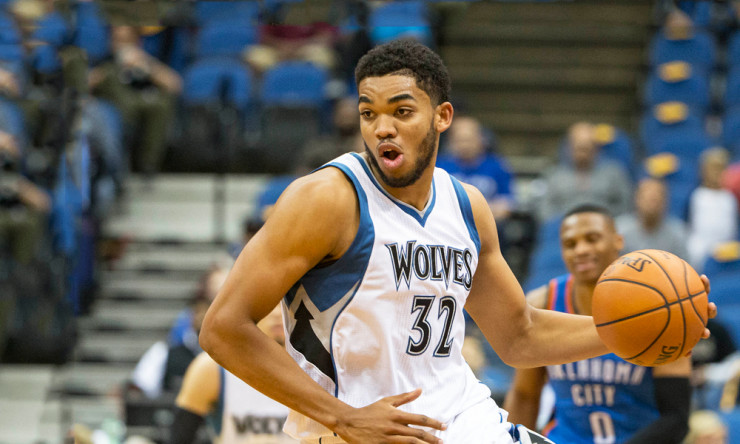 Karl-Anthony Towns' Rookie Season Has Been Historically Good