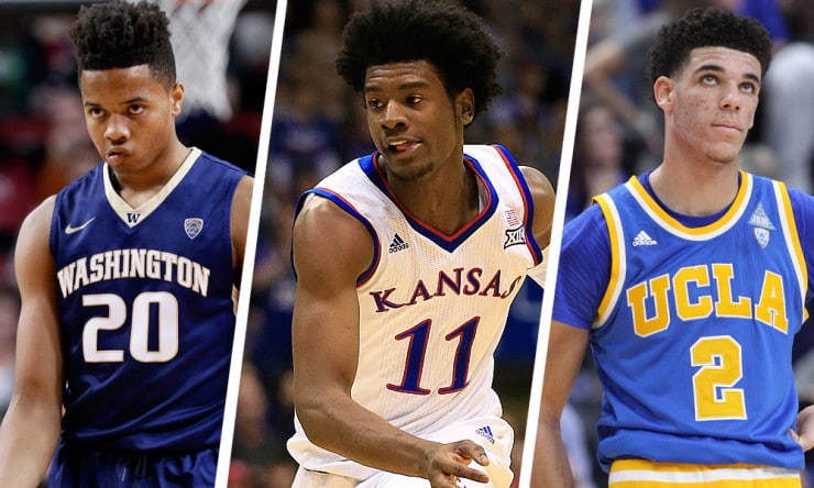 Celtics Lakers Land Top Two Picks In Draft Basketball