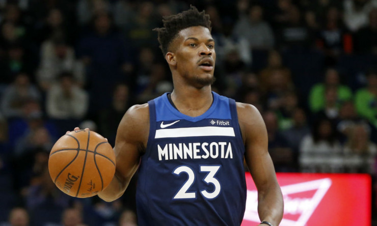 Jimmy Butler (Knee) Sits Out T-Wolves Win Over Raptors ...