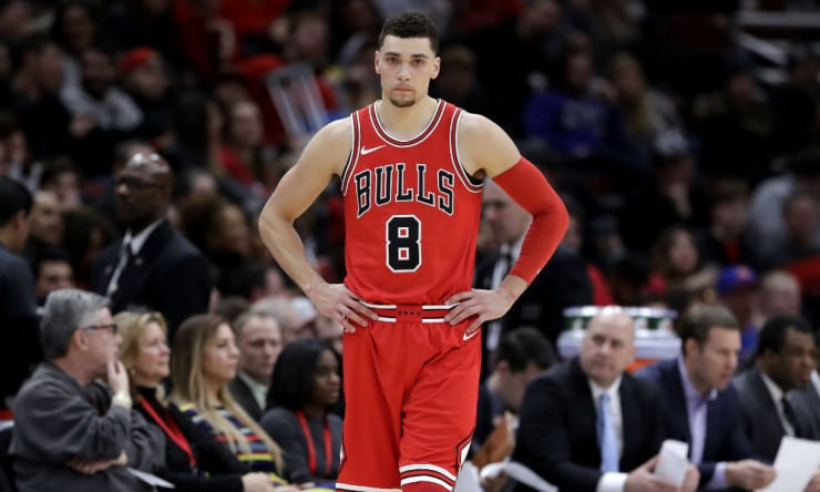 NBA Daily: Zach LaVine Has Solid Debut With Bulls ...