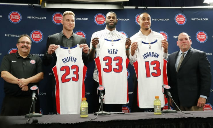 Blake griffin on trade to detroit shocked is a good way to put it share tweet new detroit pistons forward blake griffin m4hsunfo Gallery