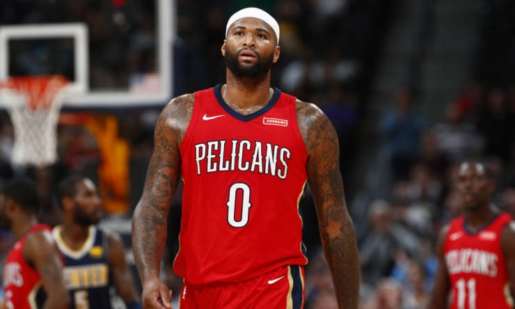 in stock 911cf 5d401 NBA Daily: Pelicans Might Be Better Off Without DeMarcus ...