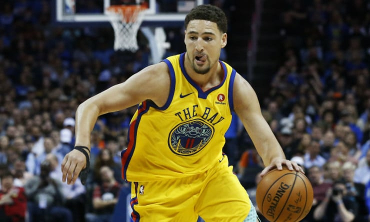 super popular bccb3 41282 Sources: Warriors to Offer Klay Thompson Five-Year, $190 ...