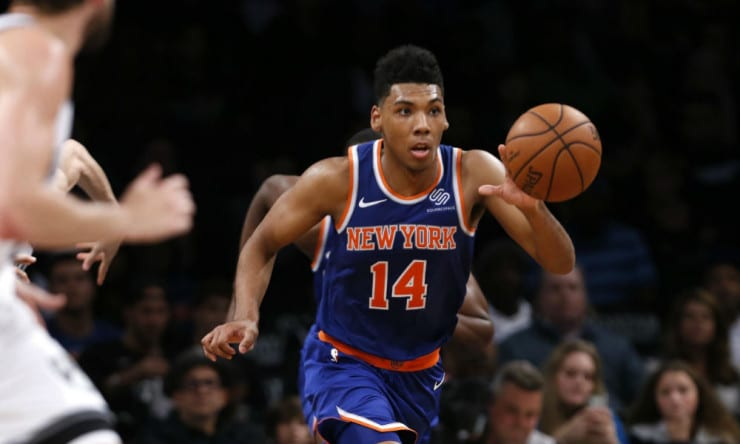 Sources: Knicks Exercise Team Option on Allonzo Trier