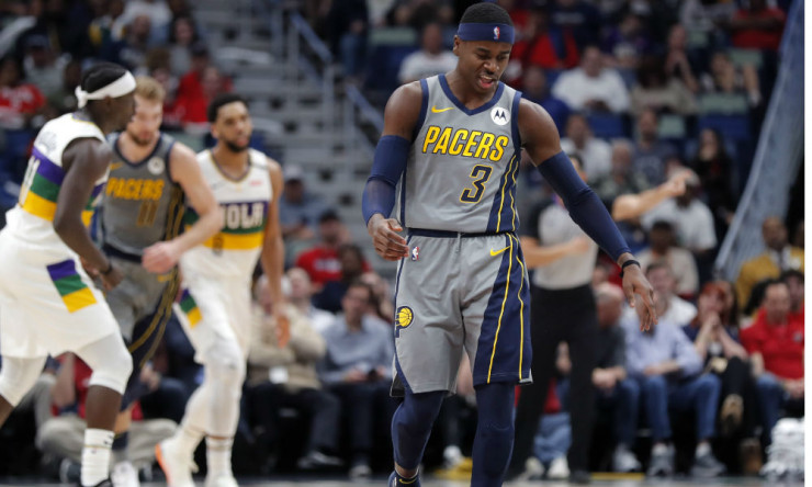 buy popular 672ac a712b Sources: Pacers Exploring Trades for Aaron Holiday ...
