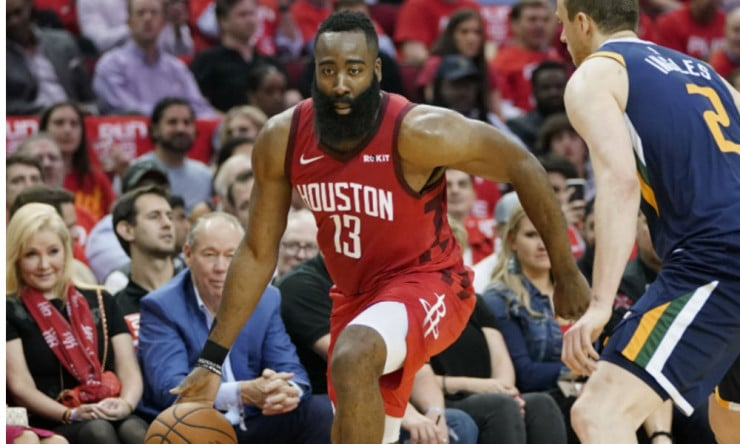 a21b239e301 NBA Daily  James Harden s All-Around Deadly Game