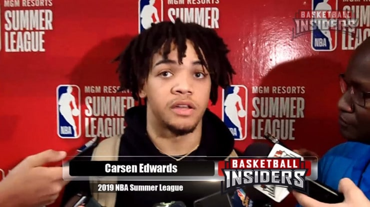 Video Carsen Edwards Aiming For Consistency On Both Ends