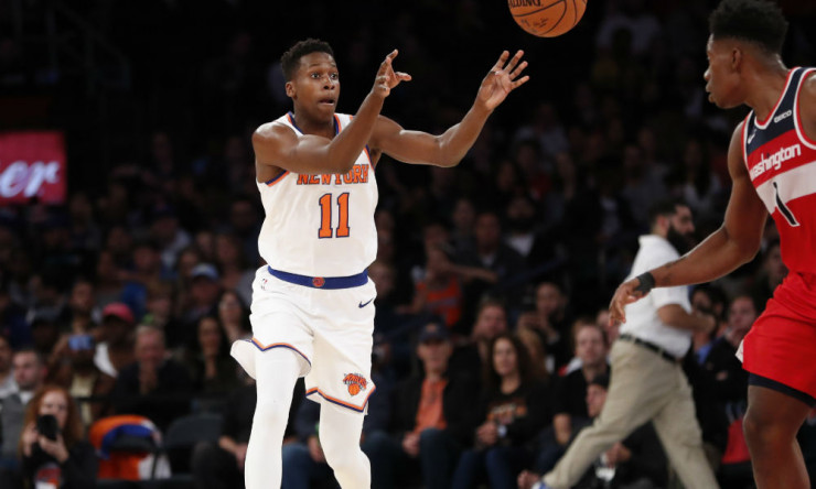 Sources: Pistons Interested in Frank Ntilikina