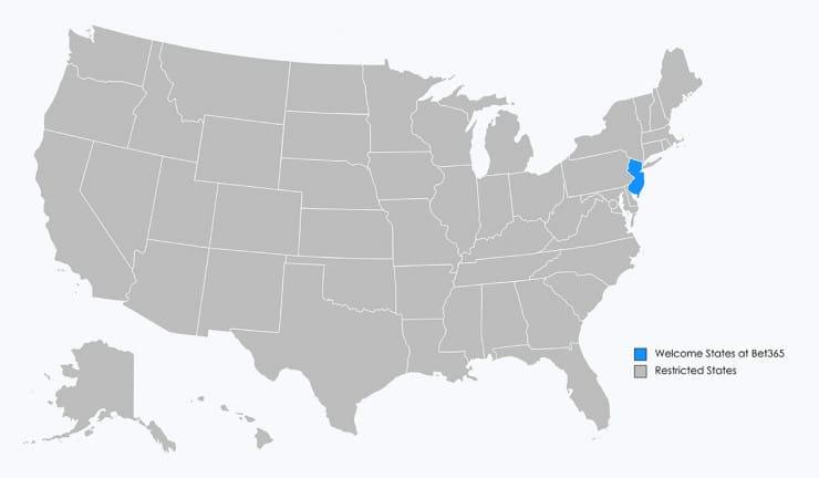 Bet365 Map