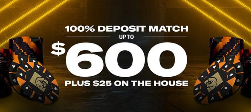 BetMGM Poker Bonus Code