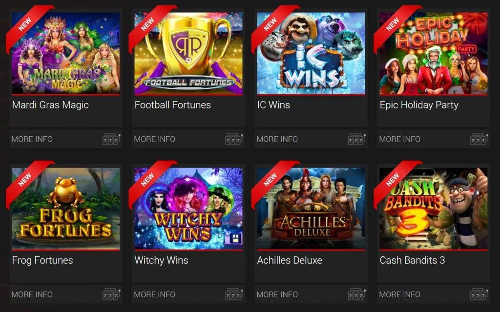 BoVegas Slot Games