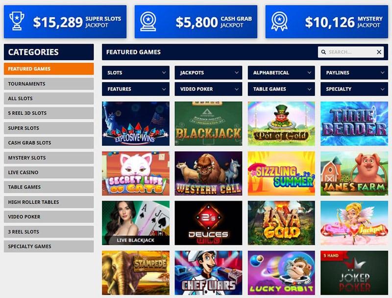 GTbets Casino Page