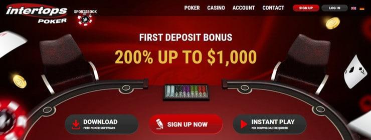 Intertops Casino Page