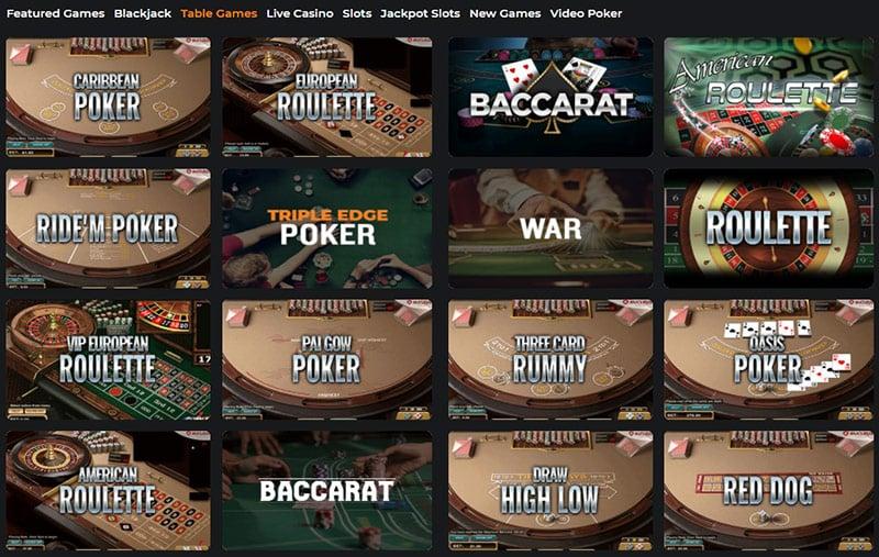 MyBookie Poker Games