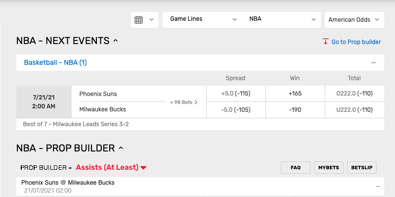bovada new betting image