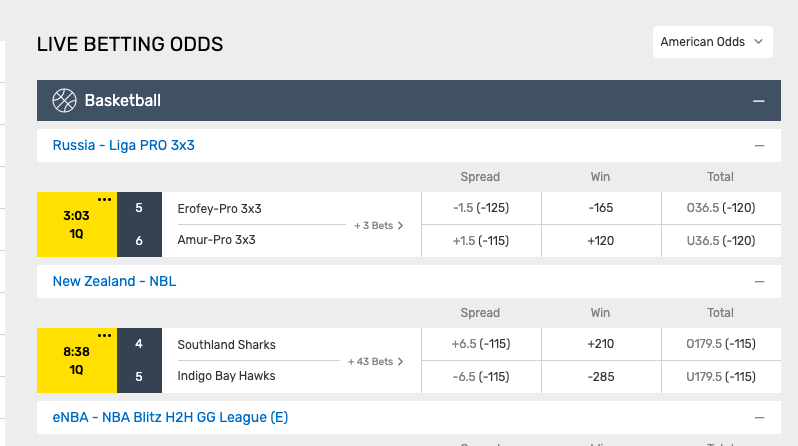 MyBookie new basketball betting