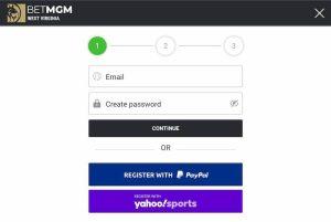 Create BetMGM Casino Account