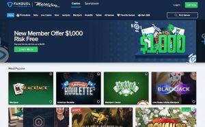 Fanduel best wv Online Casinos