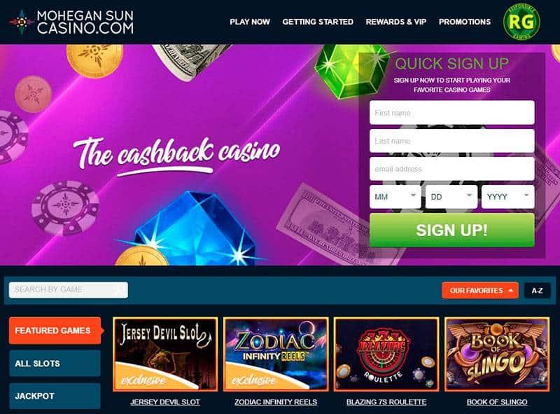 Mohegan Sun Casino Home
