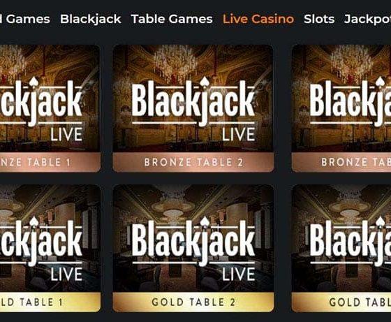 MyBookie Live Casino Blackjack Games