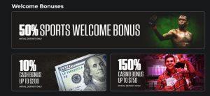 MyBookie Welcome Bonus Offers
