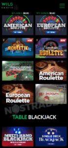 Wild Casino Mobile android Casino App