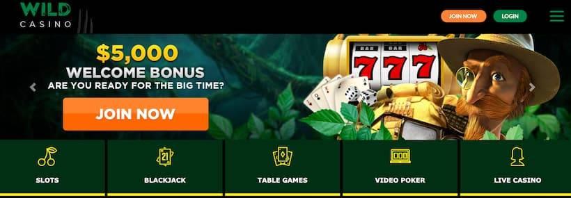 Wild Casino Join Now