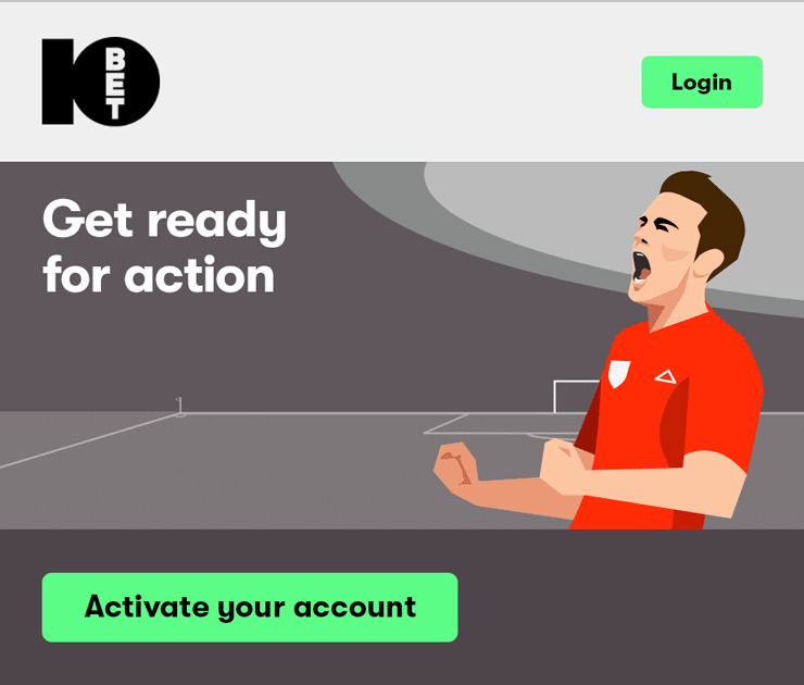 How To Activate Your 10Bet Account