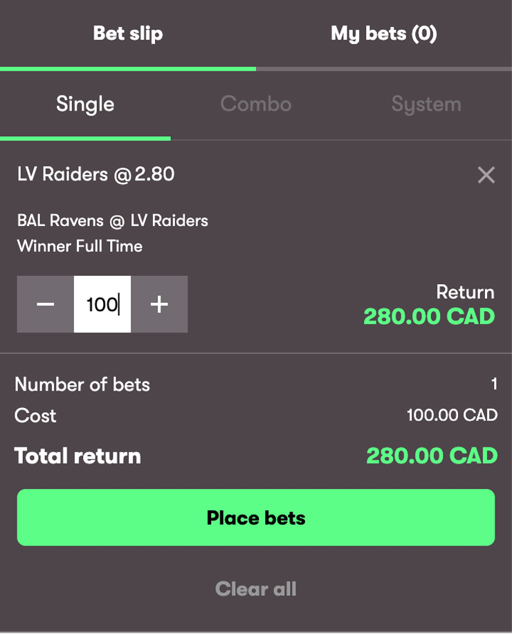 How To Place A Bet At 10Bet Sportsbook