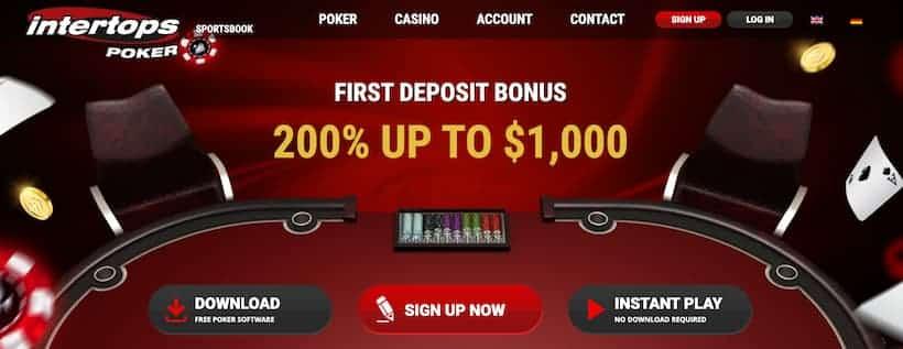 Intertops Bitcoin Poker Casinos image