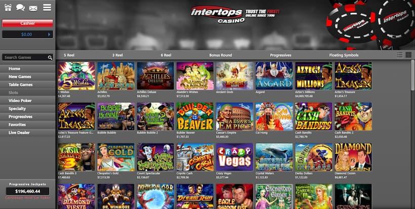 Intertops Bitcoin Slots image
