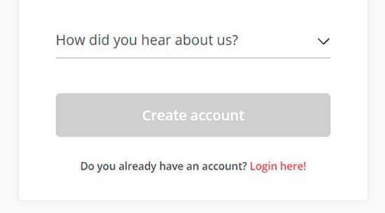 BetOnline Registry Step 3