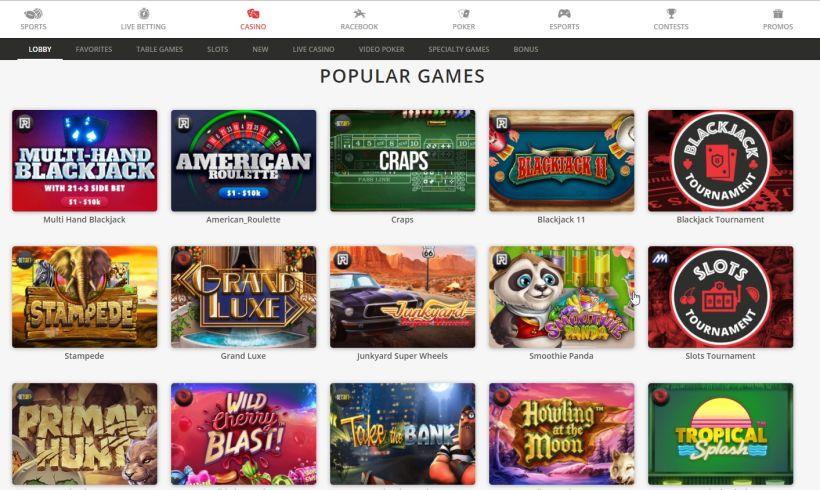 BetOnline-popular-games