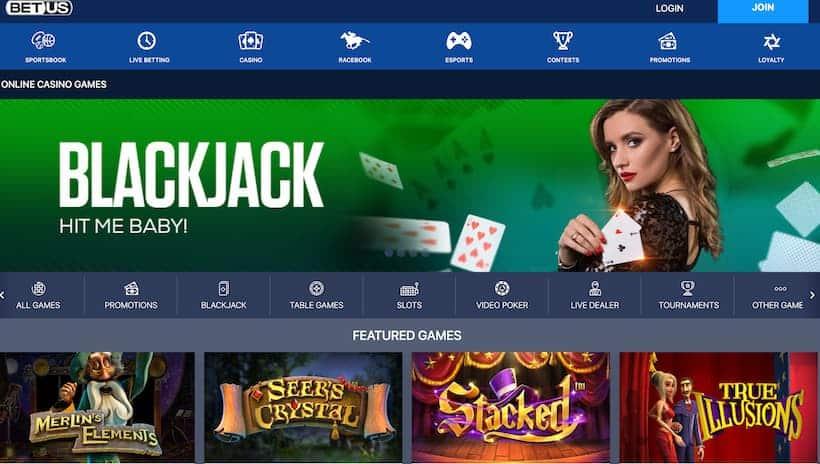 BetUS Bitcoin Casinos image
