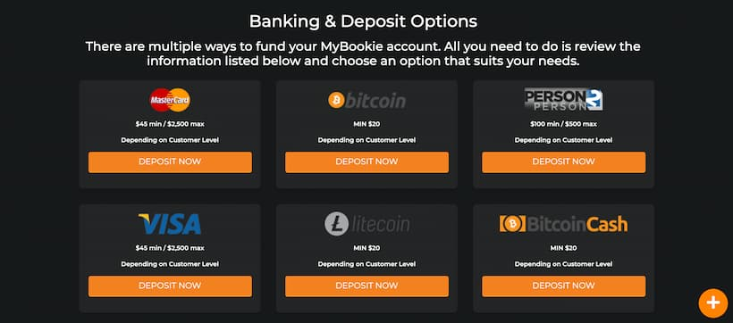 Deposits page bitcoin casinos image