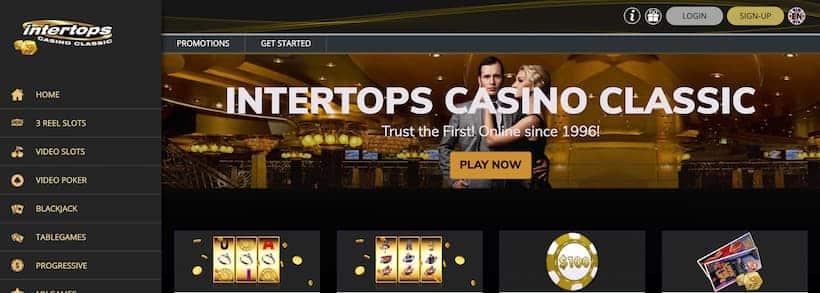 Intertops Bitcoin Casinos image