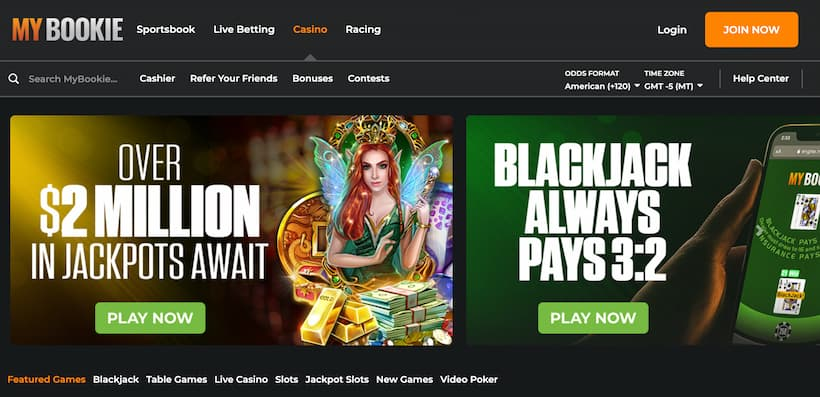 MyBookie Bitcoin Casinos image