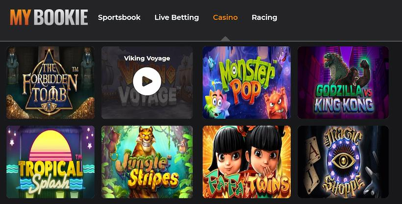MyBookie Select a Game