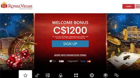 site web casino Royal Vegas