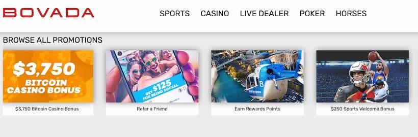 Bovada: best echeck betting site