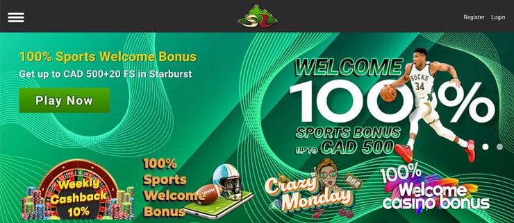 An example of a betting bonus