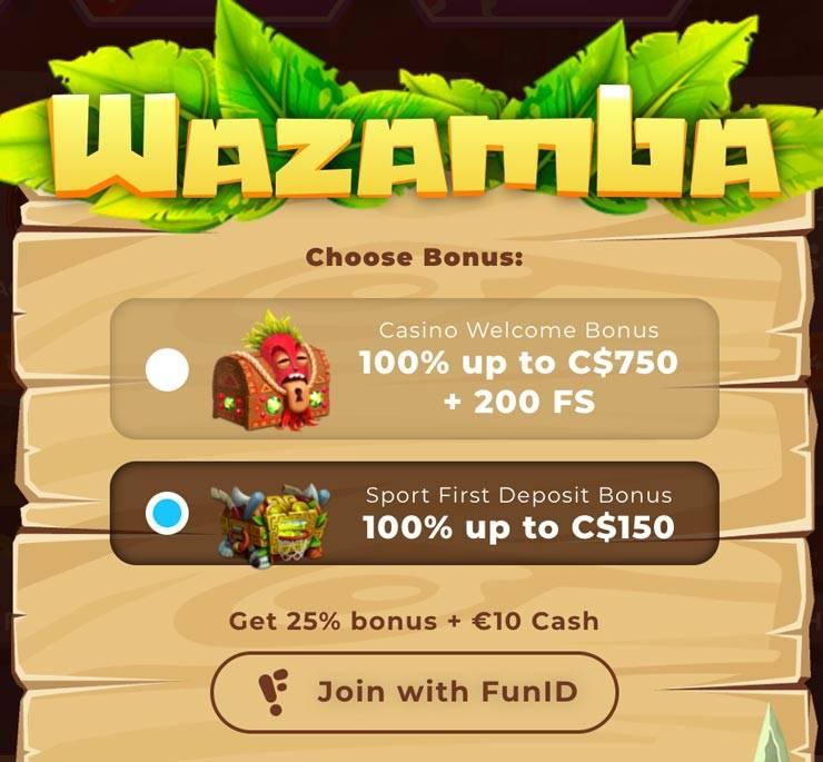 Selecting A Bonus At Wazamba