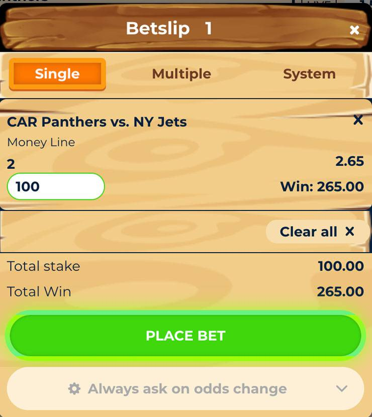 How To Place A Bet At Wazamba