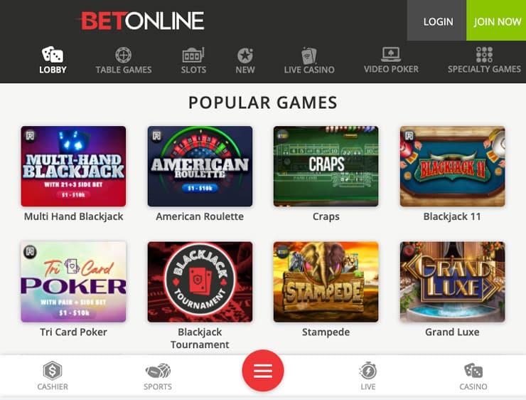 Betonline Casino Apps