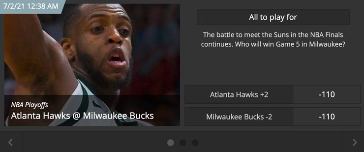 Betting on NBA Game Lines