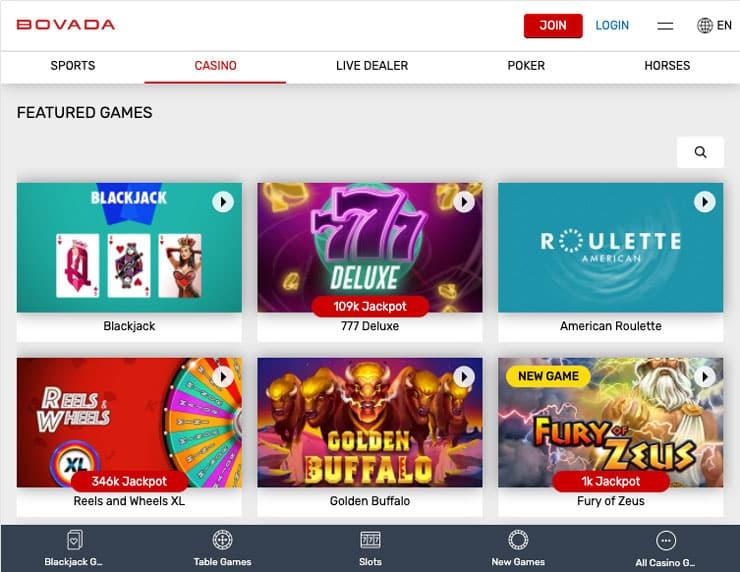 Bovada Casino Apps